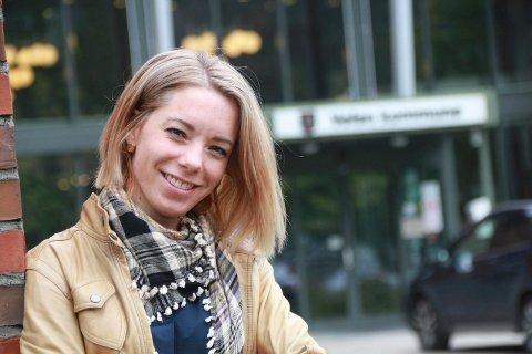 AMBISJONER: Kine Mosheim (VTP) vil ikke stille som ordførerkandidat til valget neste år. Men hun har døra på gløtt for en senere anledning.