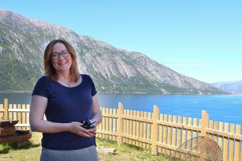 Cathrine Markussen, rektor ved Vefsn Folkehøgskole - Toppen.