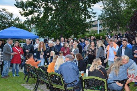GODT BESØKT: Roar Møller anslår at det var nesten 4.000 gjester på Byfesten. Overskuddet går til å utvikle Sjøgata.