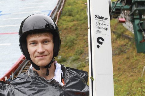 TRE KONKURRANSER: Emil Storjord Vilhelmsen er fornøyd etter tre konkurranser på fire dager.