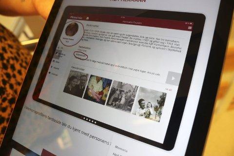 Intro: Min Memoria er et verktøy for omsorg og kommunikasjon, der brukernes livshistorie er i fokus.