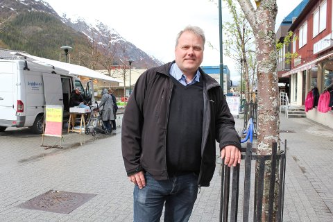 STILLE: Bjørn Larsen mener at det har vært litt stille rundt Vefsna regionalpark og at folk flest neppe vet så mye om konseptet.