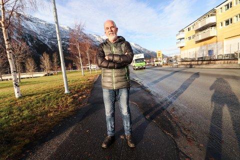 INNTEKTSGAP: Gunnvald Lindset (Rødt) vil at ordførerens godtgjørsler kuttes tilsvarende 200.000 kroner per år, og at ordførerlønna baseres på folketrygdens satser framfor på stortingsrepresentantenes godtgjørsle. Han påpeker at saken er av prinsippiell karakter.