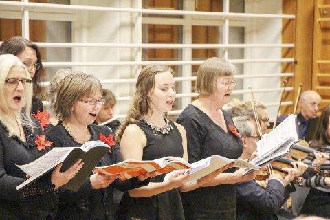 Korsang: Dolstad kammerkor er blant dem som skal synge i kirka lørdag. arkivfoto: Vegard olsen