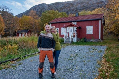 Kim og Sølvi Nyrønning fra Klæbu, utenfor Trondheim fant drømmeplassen sin i Fagervika.