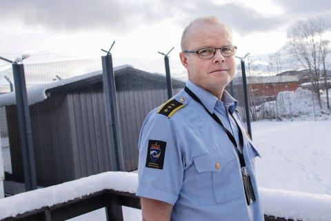 Frank Ivar Lie er inspektør i Mosjøen fengsel, og stedlig leder. Fengselet er underlagt kriminalomsorgen i Nordland.