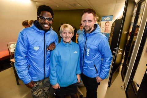 Alexander Skadberg, sammen med Monica Smørvik som var læreren hans da han bodde på Mo. Jørn Erik Søfting i Delta, var med å arrangerte foredraget ved Polarsirkelen Videregående skole.