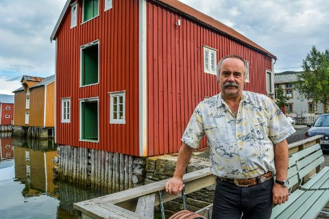 Sten Rino Bonsaksen søker jobb på Svalbard.