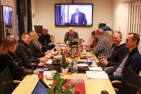 Jann-Arne Løvdahls siste møte som styreleder i Mon