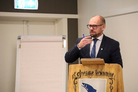 Rådmann Øyvind Toft har vært rådmann i Grane  kommune i drøyt to år.