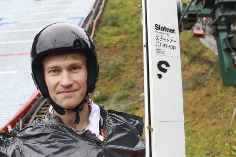 HAR HEVET SEG: Emil Vilhelmsen har hevet seg mye i det siste og ser frem til konkurransene som kommer etter jul.