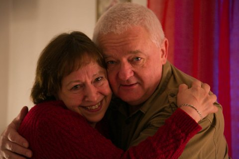 KLEM: Anita og Frode Berg gleder seg veldig til jul etter to høytider borte fra hverandre.