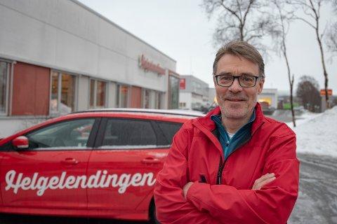 FORTSATT AVISKONKURRANSE: - For Helgelendingen betyr oppkjøpet at vi skal jobben enda hardere for å gi våre lesere og annonsører de beste produktene, sier sjefredaktør Geir Arne Glad.