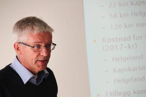 ANBUD: Prosjektleder Bård Nyland i Statens vegvesen sier at veivesenet  - i teorien - kan få satt i gang bygging på de to sørligste strekningene våren 2021. Men før den tid må staten eventuelt sørge for å finansiere strekningene. Kostnaden er foreløpig satt til vel 400 millioner kroner.