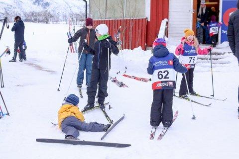 Fornøyde: Mange slitne og fornøyde barn etter årets første Ollmoleker.