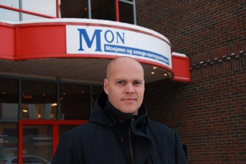 KLAR TALE: Espen Isaksen sier at han ikke ble nervøs eller overrasket da ministeren offisielt bekreftet at det er greit at PLU utlyser en anbudskonkurranse for en ny lufthavn på Hauan.