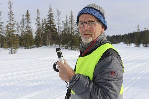HJARTFJELLRENNET:  Rennleder Egil Pettersen hadde ikke noe valg og måtte avlyse rennet søndag 10. mars.