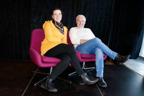 Marita Øvre-Johansen og Reidar Eriksen inviterer til konsert med gruppa Take Five.