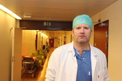 Overlege Svein Arne Monsen sa opp sin stilling hos Helgelandssykehuset i protest mot prosessen for ett felles sykehus på Helgeland.
