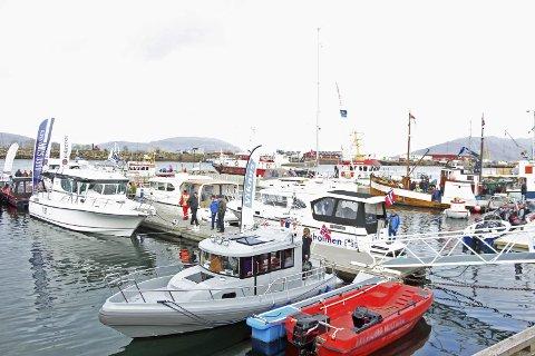Båtmessa arrangeres i Sandnessjøen i helga.
