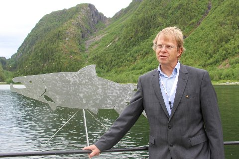 Øystein Aas har beregnet at Vefsna vil kunne gi økte inntekter til  lokalsamfunnet på mellom 20 og 30 millioner kroner årlig.