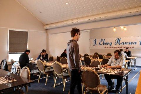 NNM i sjakk Mosjøen sjakklubb turnering på Frøken Skjolds hotell