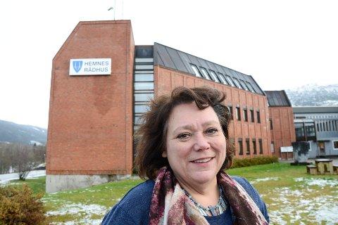 Christine Trones, ordfører i Hemnes ønsker en megakommune med 45.000 innbyggere  på indre Helgeland.