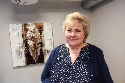 - Mange unge sliter. Qvales Mestringshus er et veldig fint tilbud, sa Erna Solberg da hun besøkte Mosjøen i vår.