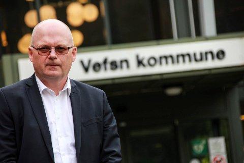SNART I MÅL: Rådmann Erlend Eriksen, kommunalsjef Trond Kaggerud og en ansattrepresentant fra fagorganisasjonen NITO (Norges ingeniør- og teknologiorganisasjon) har intervjuet fem personer til kommunalsjefjobben.