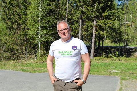 Kjipt: Ordfører i Grane kommune, Bjørn Ivar Lamo forteller at det er kjipt at de ikke kunne dele varmerekorden med Nesbyen, men er sikker på at de holder rekorden i Nord-Norge.