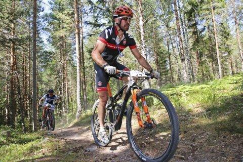 EM TERRENG: Yngvar Alexander Hansen har syklet ritt i Sverige, som her i Engelbrektsturen 2018, men han har aldri deltatt i europamesterskapet. EM Terreng er for første gang lagt til Norge og Furusjøen Rundt. Lørdag skal Yngvar prøve å ta tittelen i sin klasse.