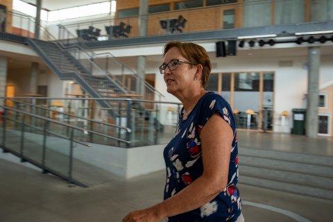 Rektor ved Kippermoen ungdomsskole Karin Tverå Juvik.