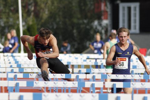 Sondre Mjølkarlid fra Hattfjelldal tok sin første junior NM-medalje da han ble nummer tre på 100 meter hekk i helga.