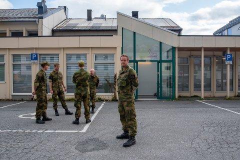SJEKK: Det var under heimevernsøvelese ved Drevjamoen at en granat gitt av. Løytnant og troppsjef Armand Vagle kunne ikke kommentere saken, men bekreftet at flere soldater måtte inn til rutinemessig sjekk.