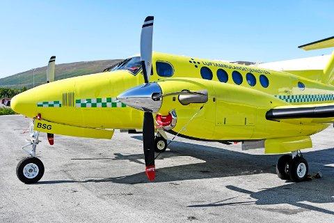 Ambulanseflyet kunne ikke fly fra Tromsø til Rana på grunn av for fint vær.