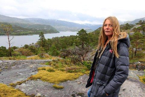 Turid Angelica Brocks synes det er lite tilrettelagt for næring i Husvika.