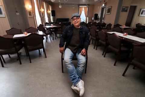 """GLEDER SEG: Ernst Hegdal i Sjøgata Jazz- og bluesklubb gleder seg stort til å høre """"Barnes & Finnseth kvintett"""" i Kulturverkstedet lørdag."""