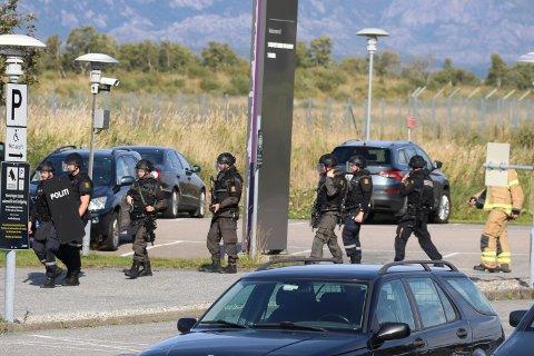Politiet jobber på spreng med å avklare situasjonene.