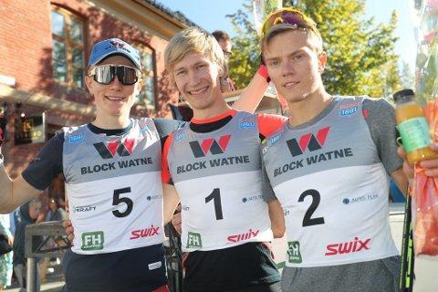 Emil Storjord Vilhelmsen fra Mosjøen vant kombinert åpningsrennet på Lillehammer lørdag.