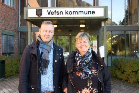 Berit Hundåla og Rune Krutå blir politiske parhester de neste fire årene.