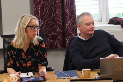KRITISK: Kine Mosheim Lysfjord (VTP) og Jørn Clausen (H) ga uttrykk for at en ny kulturskole bør bygges i tilknytning til dagens kultursenter i Mosjøen sentrum.