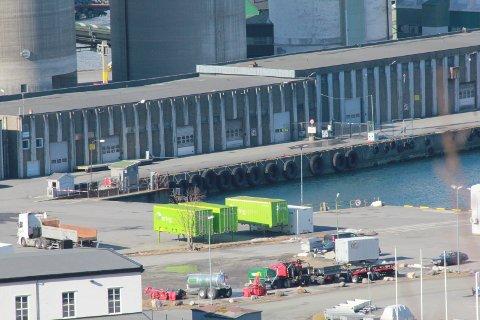 PENGER: Vefsn kommune bevilger 0,4 millioner kroner til å bygge en vei fra havneområdet til jernbaneterminalen.