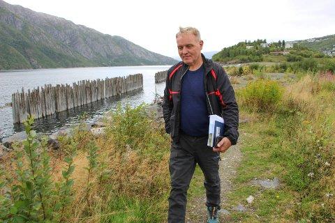 Jan Sandbukt, daglig leder Storvik AS i Mosjøen