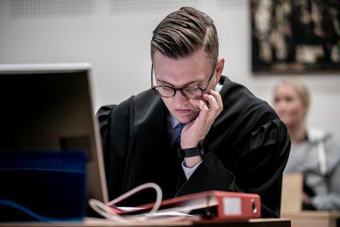Konstituert statsadvokat Stian Pedersen Mojlanen er aktor i saken.