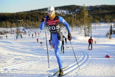 IKKE I TOPPFORM: Morten Hjørnerød var ikke i toppform i helga. Han klarte ikke å gå videre i NM-sprinten. Norgescupen i langrenn ble innledet på Lygna med to distanserenn og NM-sprint. Foto: Svein Halvor Moe