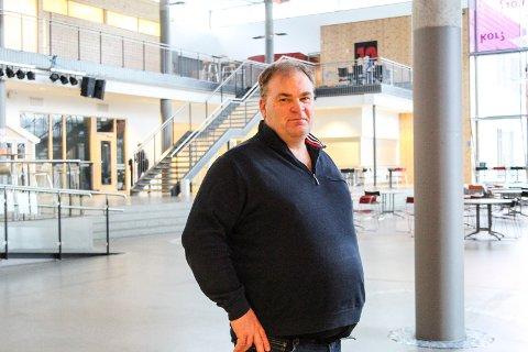Ny rolle: Frank Sparby blir konstituert rektor på Kippermoen ungdomsskole fra 1. februar.