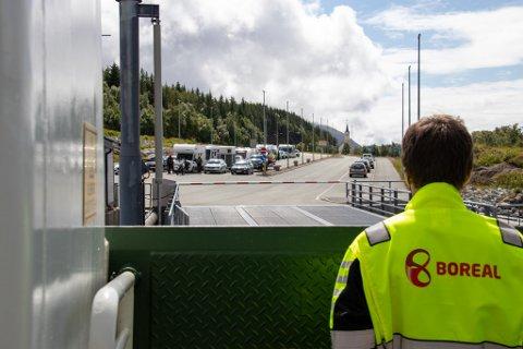 NEKTES Å SEILE: Boreal har i dag fått seilingsnekt fra Sjøfartsdirektoratet etter at de har gjennomført revisjon onsdag. Bildet er fra Forvik i sommer.