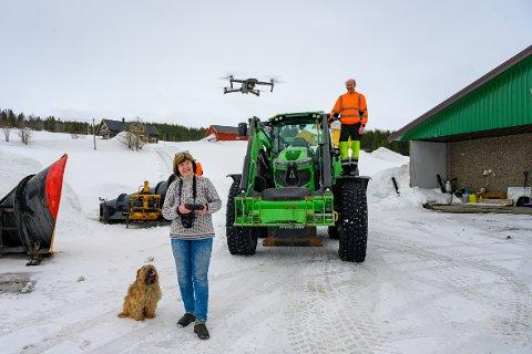 Tina Brennbakk fra Brennbakk gård i Hattfjelldal