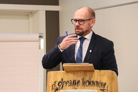 Sluttet i juni: Øyvind Toft sluttet i jobben som rådmann i juni. Nå er det klart at fem vil bli hans etterfølger.