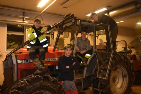 Best: Ungdomsbedriften Marka Mek UB fra Mosjøen VGS er best på yrkesfag i Nordland.
